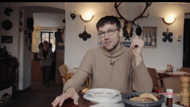 Gastromapa Lukáše Hejlíka: Hosté Kladské nedají dopustit na hříbkový krém