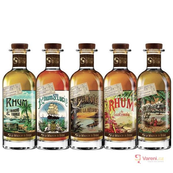 Vyznáte se v rumech? Rum není jen tmavý a kořeněný