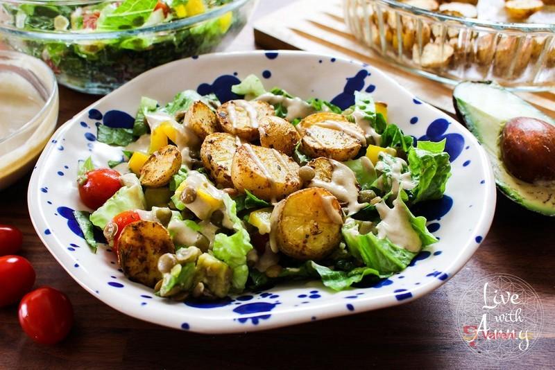 Videorecept: Zeleninový salát podle Anny