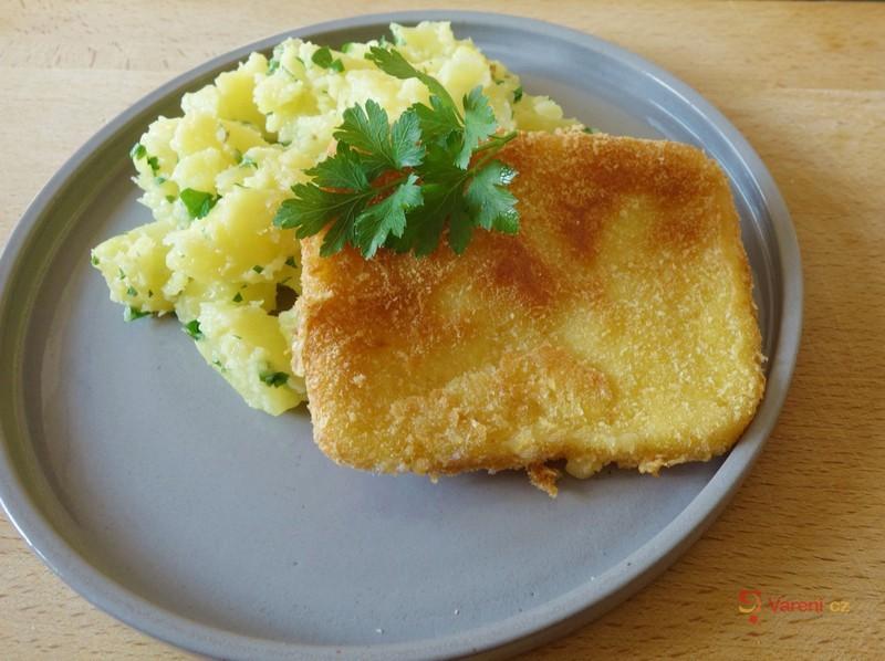 Recept na smažený sýr gouda krok za krokem