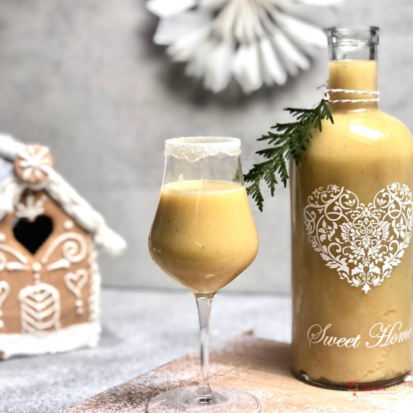 Vánoční vanilkový likér krok za krokem