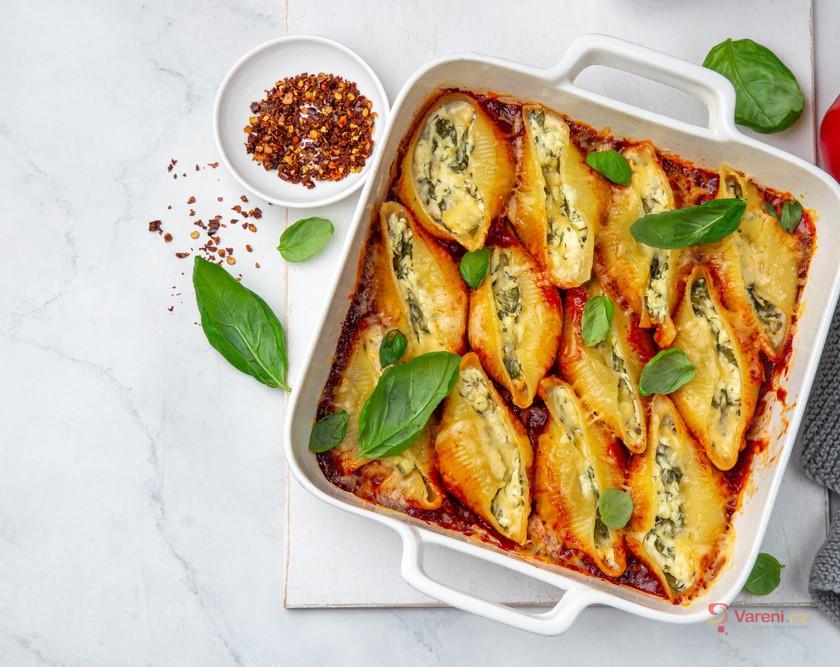 Sýr a špenát, kombinace, která neomrzí!