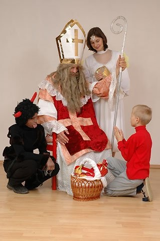 Vánoční mikulášská besídka