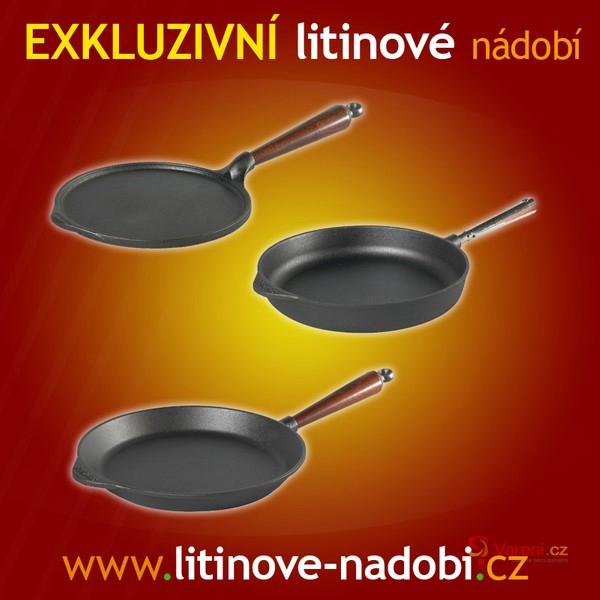 Exklusivní litinové nádobí