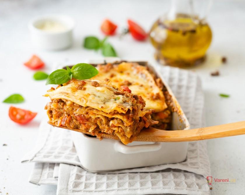 Jedinečné recepty na lasagne: S mletým masem, špenátem i cuketou