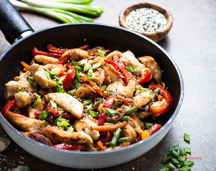 Rychlé jídlo z jedné pánve: Čína v 8 variacích