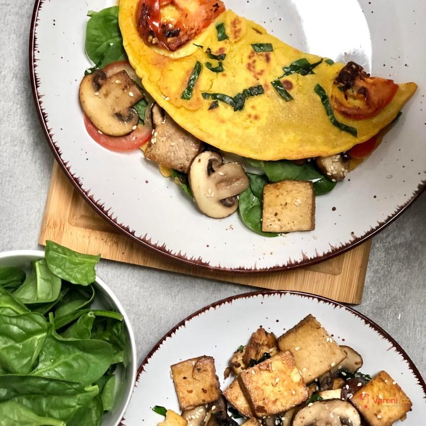 Omeleta bez vajec: Zkuste cizrnovou, neodoláte!