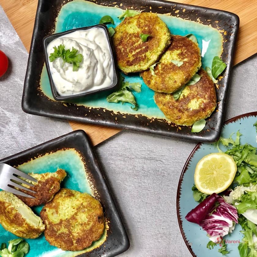 Tip na výborný oběd bez masa: Brokolicové placky s tofu krok za krokem
