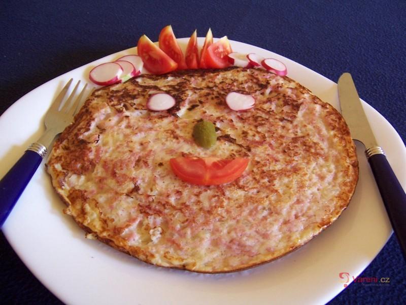 Salámová omeletka