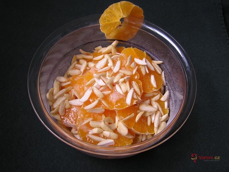 Řecký pomerančový salát