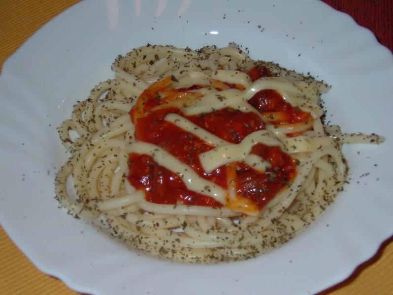 Rychlé slaninové špagety