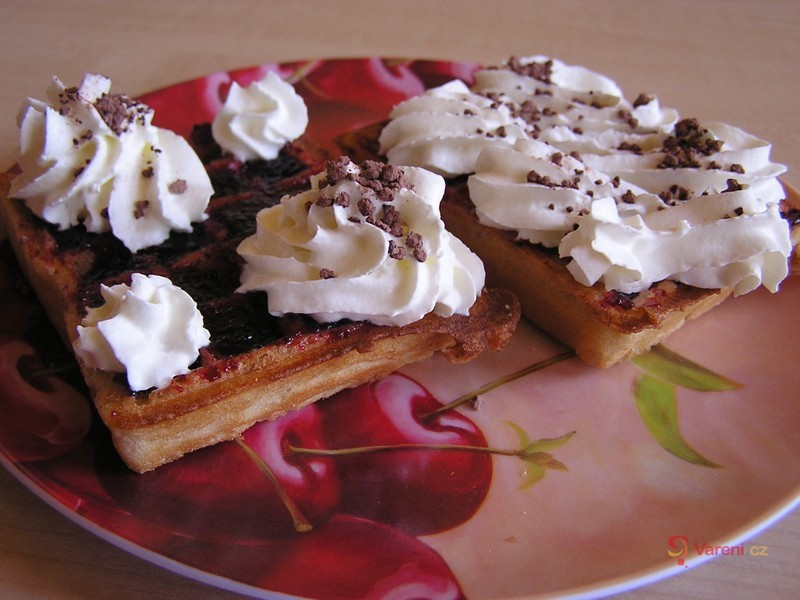 Snídaňové vafle