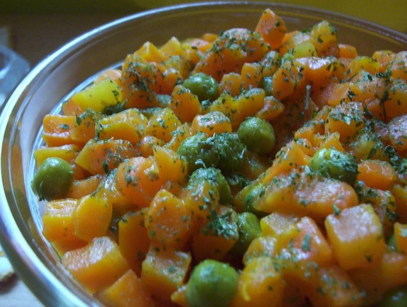 Kořeněná dušená zelenina