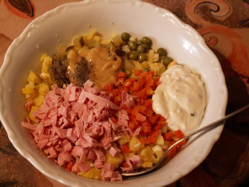 Taťuldův bramborový salát