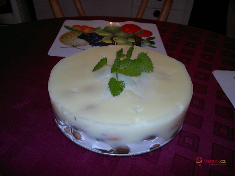 Studený mandarinkový dort