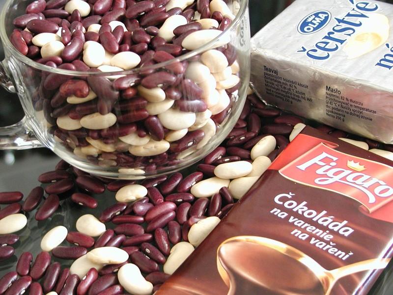 Čokoládový fazolový krém