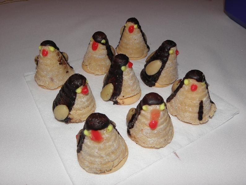 Vosí hnízda - tučňáci