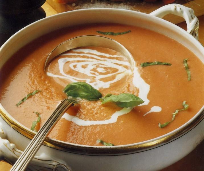 Studená rajská polévka