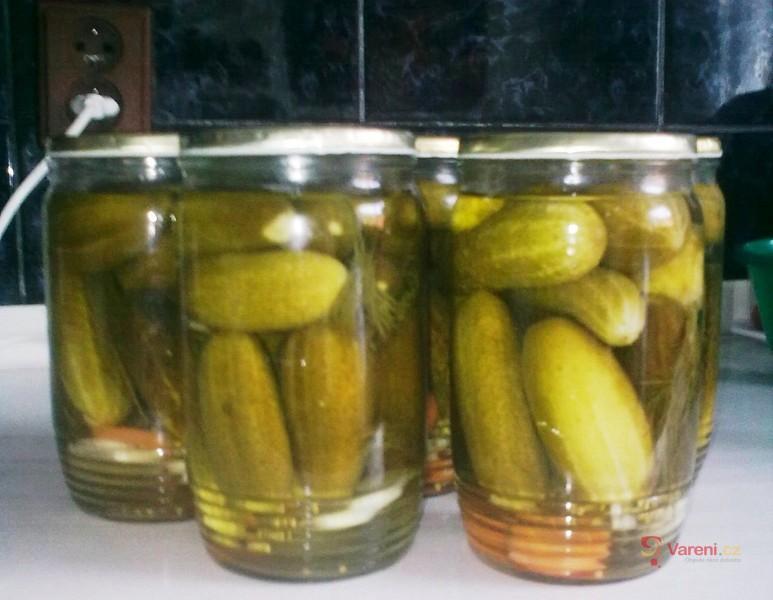 Lenčiny sterilované okurky