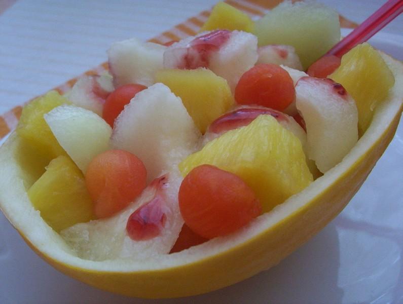 Salát z cukrového melounu
