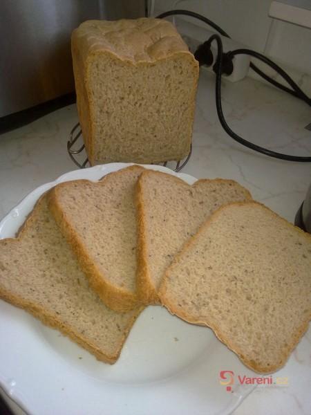 Škvarkový chléb z domácí pekárny 1
