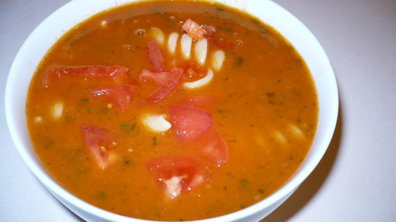 Rajčatová polévka 2