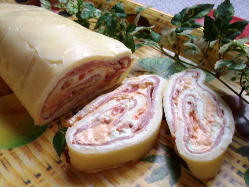 Sýrová roláda s tvarohem