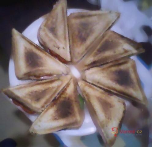 Rychlé toasty se zeleninou