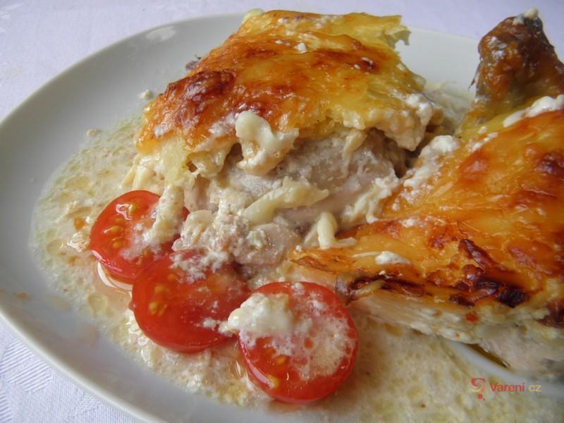 Kuře zapečené v sýru