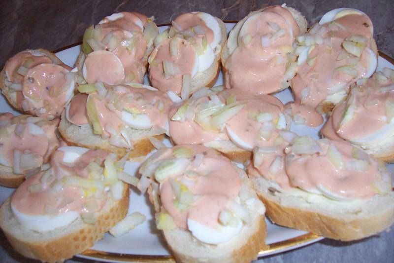 Jarní chlebíčky