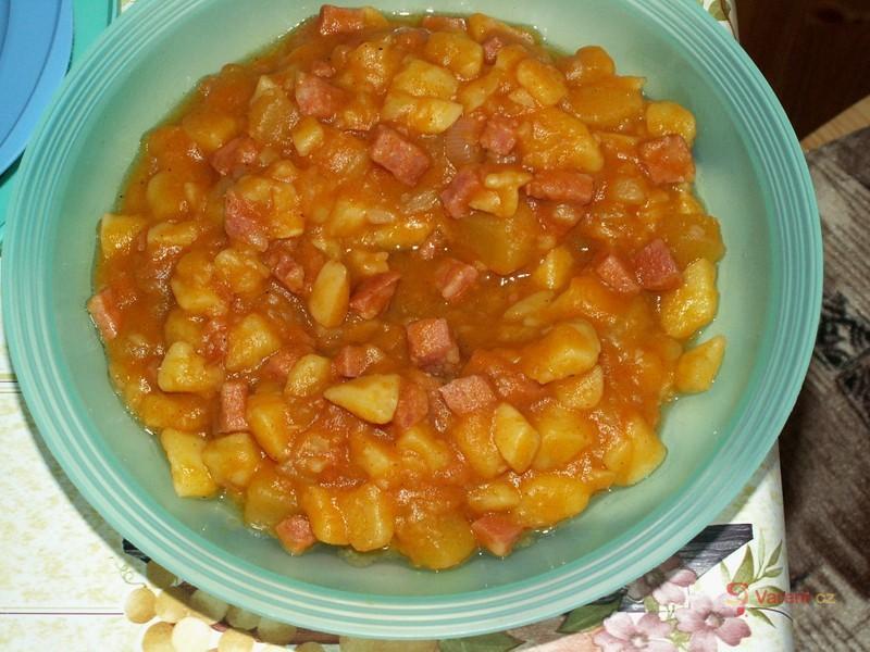 Rychlý bramborový guláš