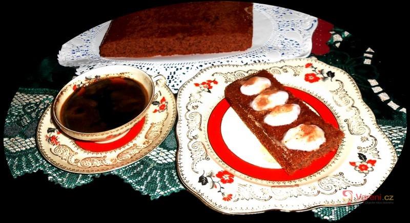 Kakaová buchta ala černoušek s marmeládou