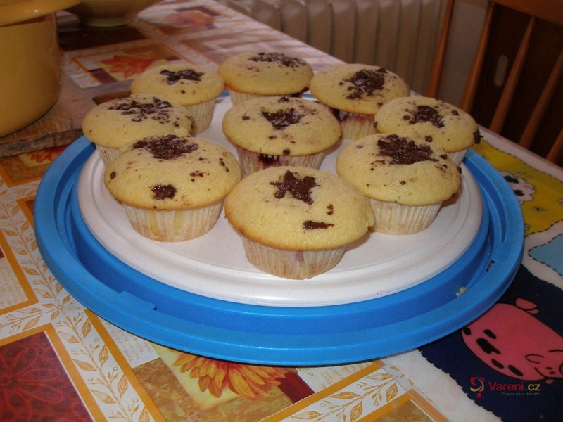 Muffiny s marmeládou