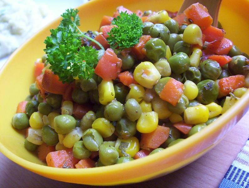 Dušená zeleninová směs