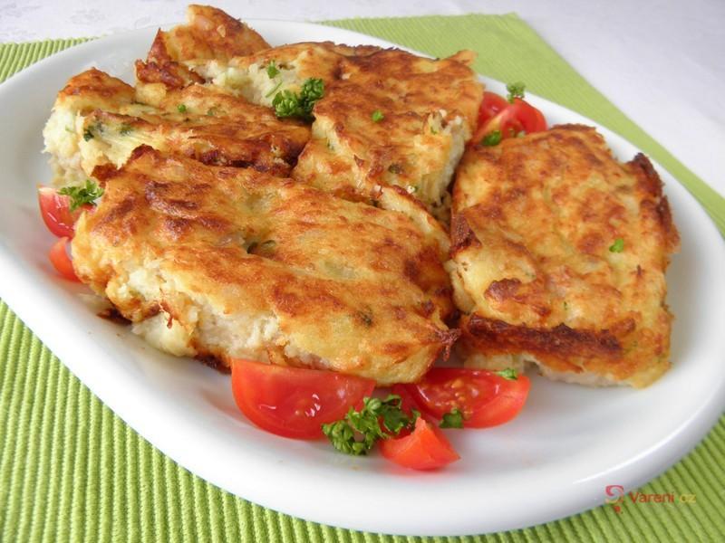Bramborové suflé s rybou