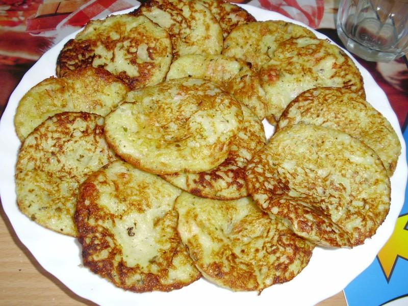 Cuketový bramborák