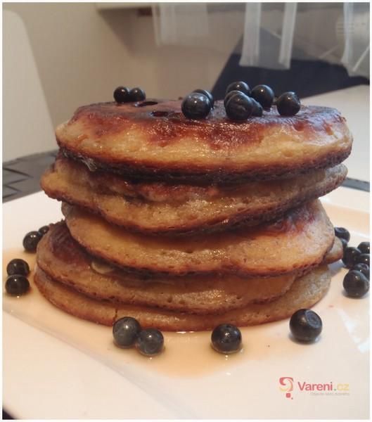 Borůvkové pancakes