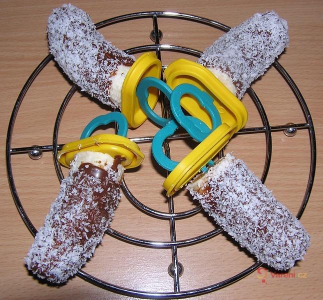 Banánové nanuky