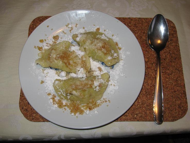 Povidlové taštičky z brambor