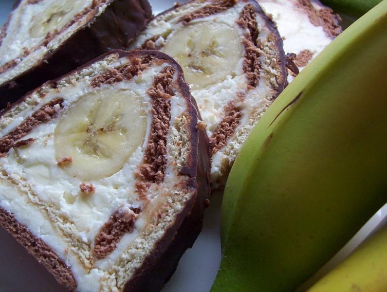 Banánová be-be stříška