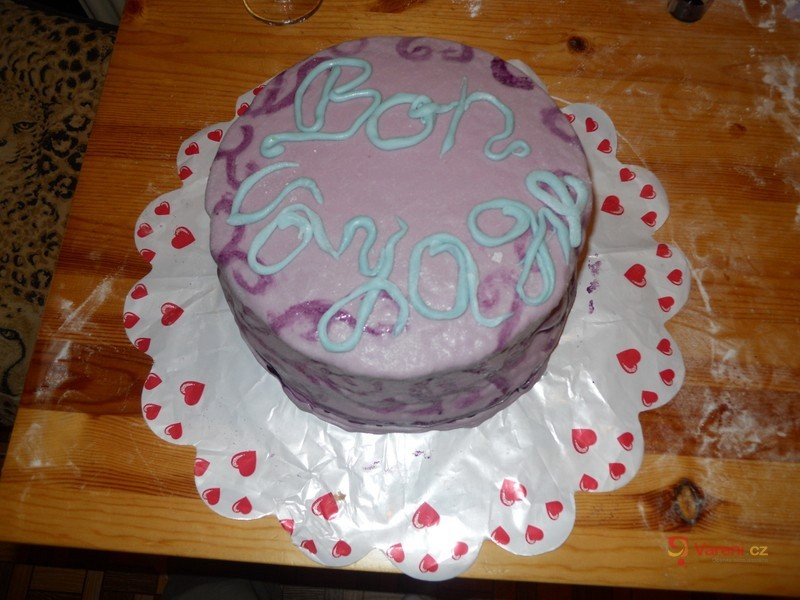 Bezlepkový dort