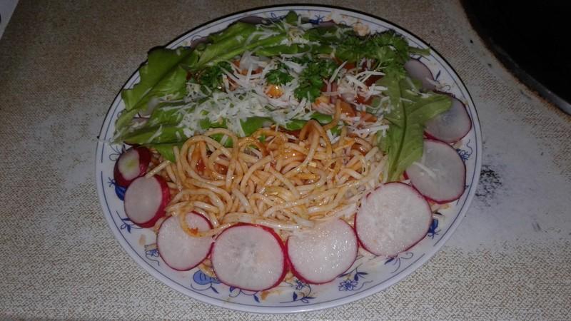 Šmakózní špagety