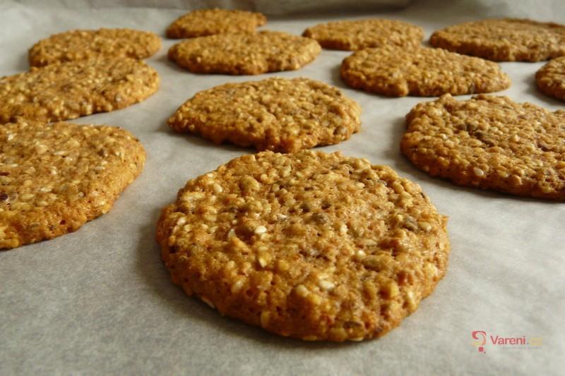 Cereální sušenky z pohankové lámanky