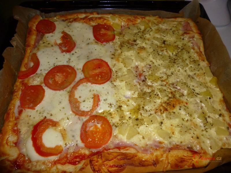 Výborné pizza těsto