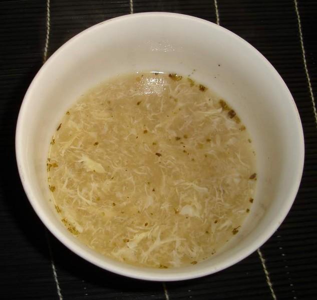 Česneková polévka s brambory