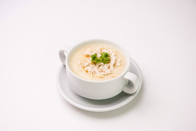 Krémová kuřecí polévka