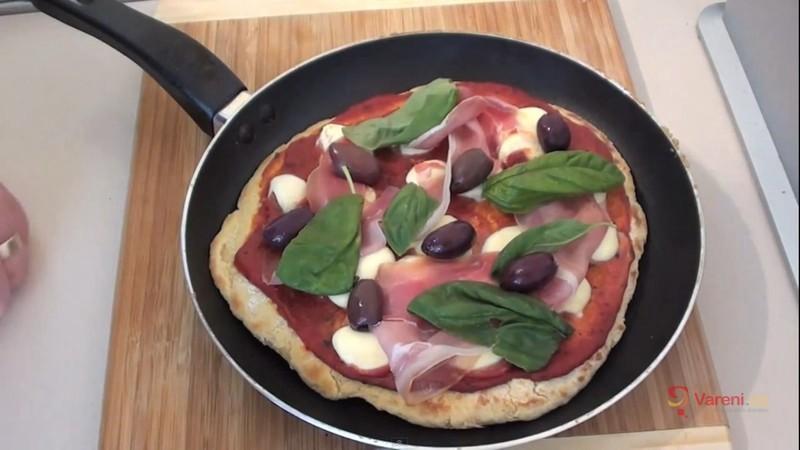 Smažená pizza