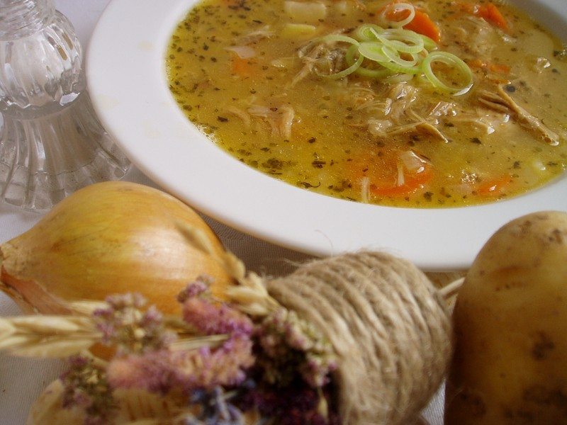 Králík v polévce