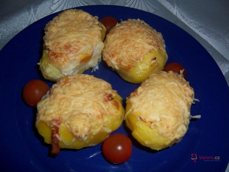 Nadívané brambory