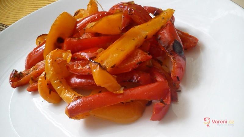 Pečená paprika na kmíně